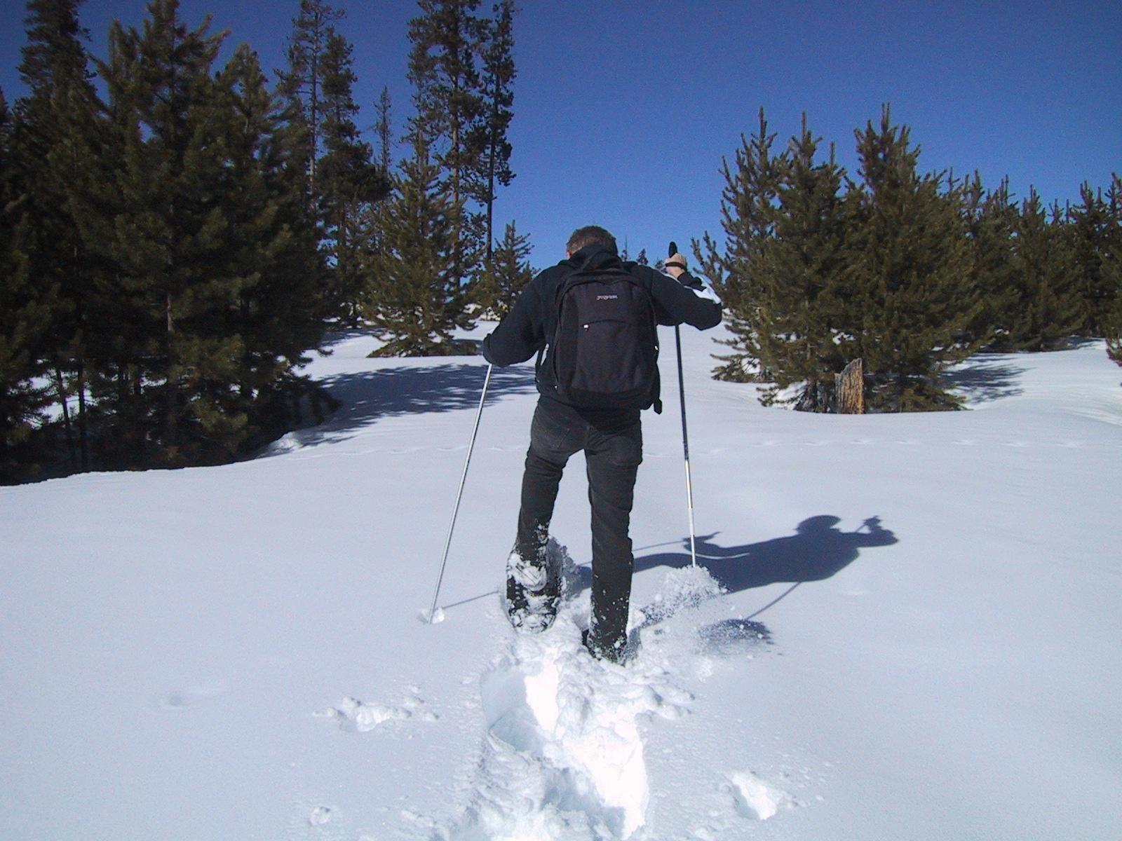 snowshoeing-ski-sport